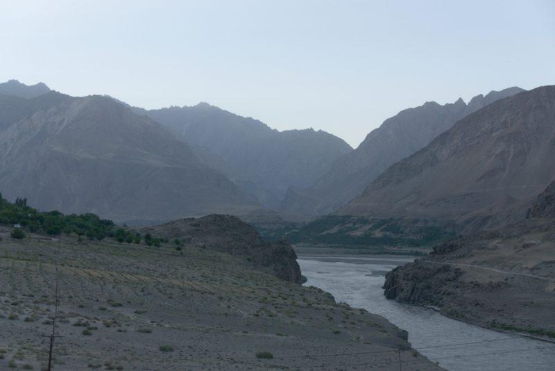 la strada per khorog