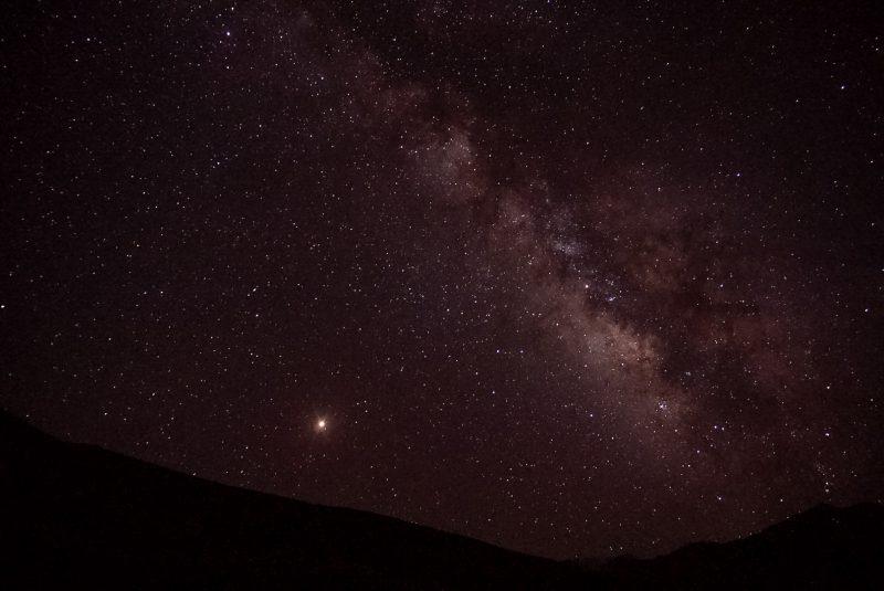 Il cielo stellato del little pamir