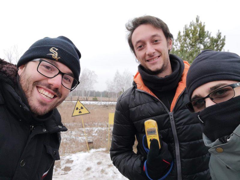 radiazioni a chernobyl